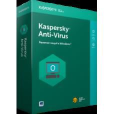 Kaspersky Anti-Virus, 2 ПК, 12 месяцев, BOX